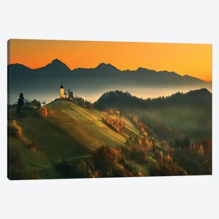 Slovenian Autumn... Canvas Print #KBR13} by Krzysztof Browko Canvas Artwork