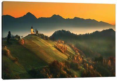 Slovenian Autumn... Canvas Art Print