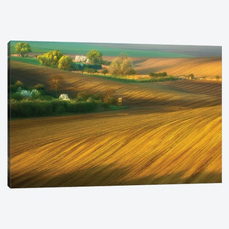 Fields... Canvas Print #KBR17} by Krzysztof Browko Canvas Print