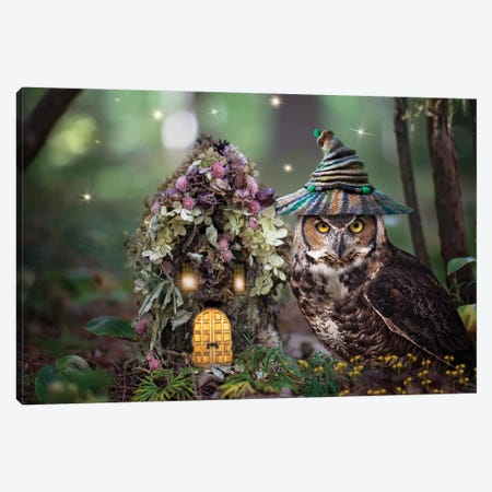 Fairy Keeper Canvas Print #KBU30} by Karen Burke Canvas Art Print