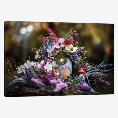 Magical Fairy House Canvas Print #KBU43} by Karen Burke Canvas Art