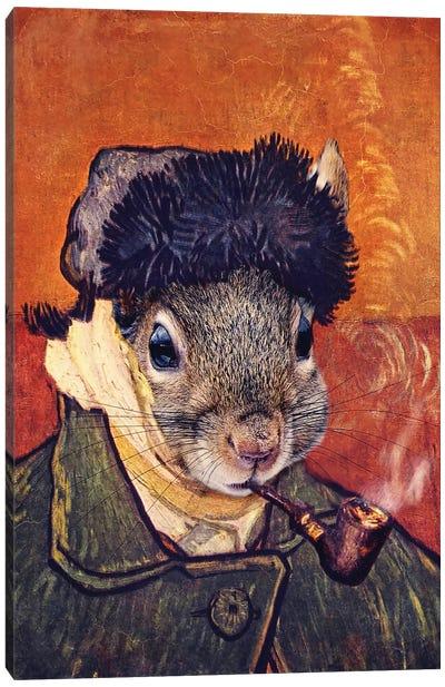 Vincent Selfie Canvas Art Print