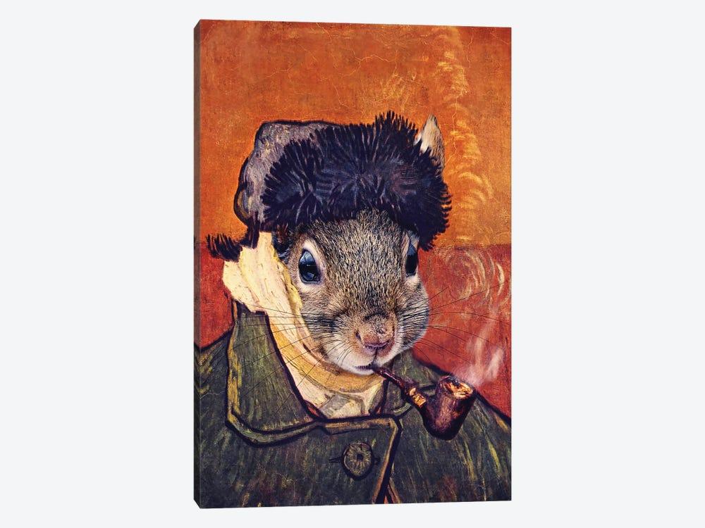 Vincent Selfie by Karen Burke 1-piece Art Print