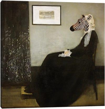 Whistlers Mom Canvas Art Print