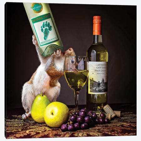 Squirrelfoot Wine Canvas Print #KBU94} by Karen Burke Canvas Wall Art
