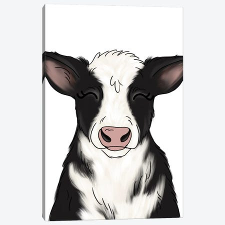 Cow Canvas Print #KBY114} by Katie Bryant Canvas Artwork