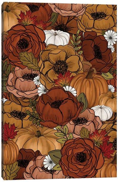 Fall Florals Canvas Art Print