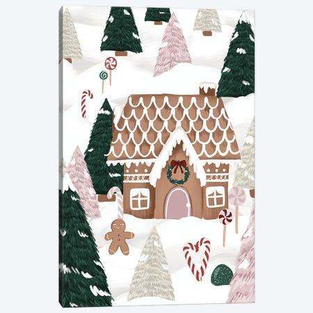 Gingerbread Forest Canvas Print #KBY170} by Katie Bryant Art Print
