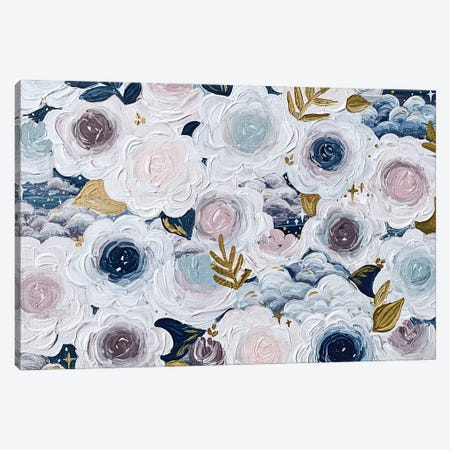 Dreamy Florals Canvas Print #KBY177} by Katie Bryant Canvas Artwork