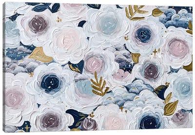 Dreamy Florals Canvas Art Print