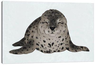 Baby Seal Canvas Art Print