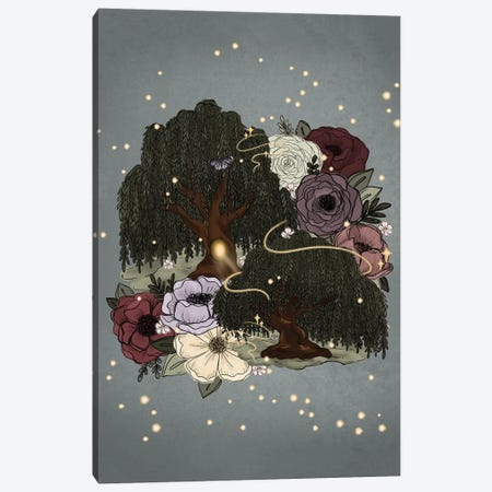 Whimsical Willow Trees Canvas Print #KBY47} by Katie Bryant Canvas Print
