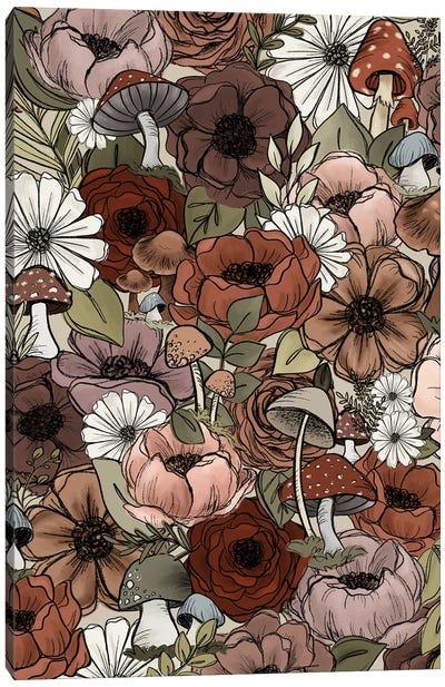 Forest Florals Canvas Art Print