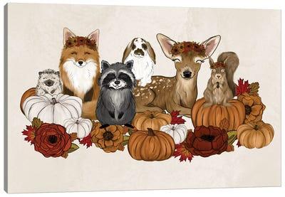 Fall Babies Canvas Art Print
