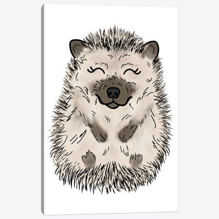 Hedgehog Canvas Print #KBY78} by Katie Bryant Canvas Art Print