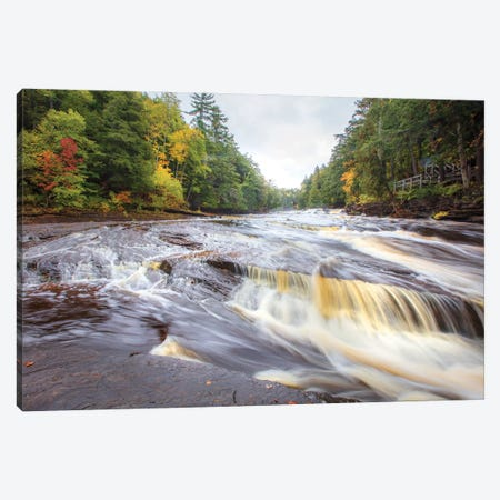 Presque River Canvas Print #KCF103} by Kevin Clifford Art Print