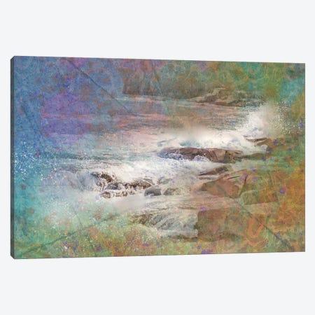Bar Harbor Waves Canvas Print #KCF10} by Kevin Clifford Canvas Print