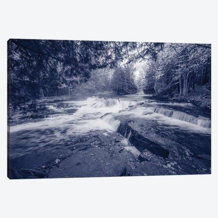 Little Falls Canvas Print #KCF116} by Kevin Clifford Art Print