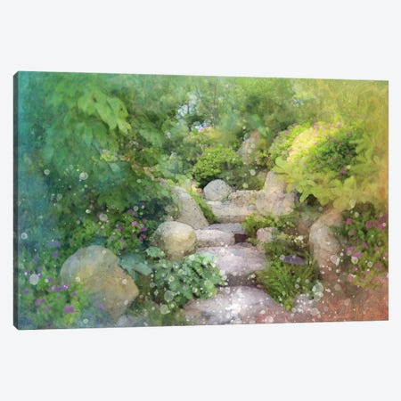 Mystic Path Canvas Print #KCF29} by Kevin Clifford Canvas Wall Art