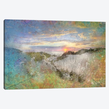 Splashy Sand Dunes Canvas Print #KCF34} by Kevin Clifford Canvas Artwork