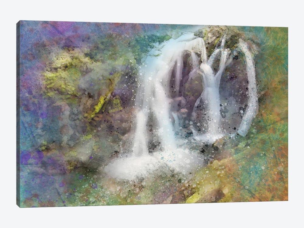 Splashy Waterfallss by Kevin Clifford 1-piece Art Print