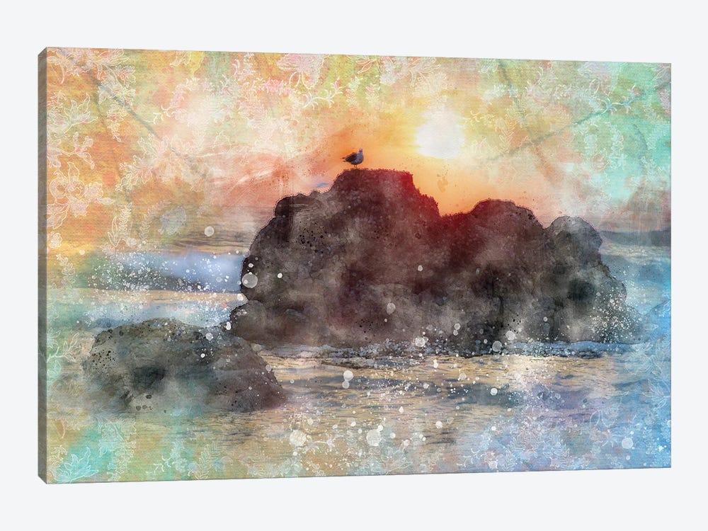 Serine Seagul by Kevin Clifford 1-piece Canvas Artwork