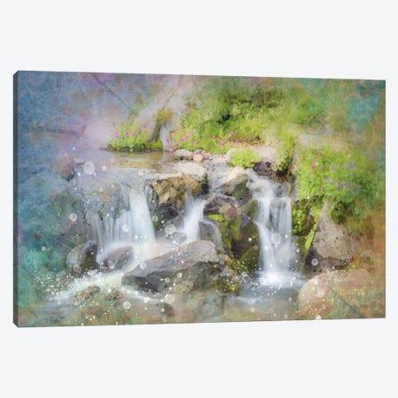 Calming Waterfall II Canvas Print #KCF46} by Kevin Clifford Canvas Art Print