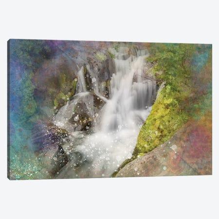 Calming Waterfall V Canvas Print #KCF49} by Kevin Clifford Canvas Artwork