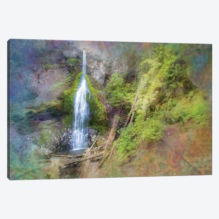 Calming Waterfall VII Canvas Print #KCF52} by Kevin Clifford Canvas Art Print
