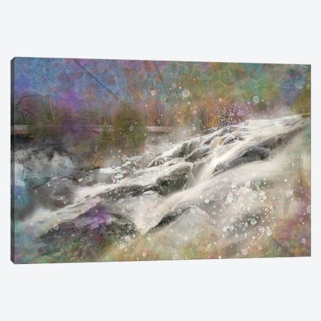 Splashy Falls Canvas Print #KCF54} by Kevin Clifford Canvas Wall Art