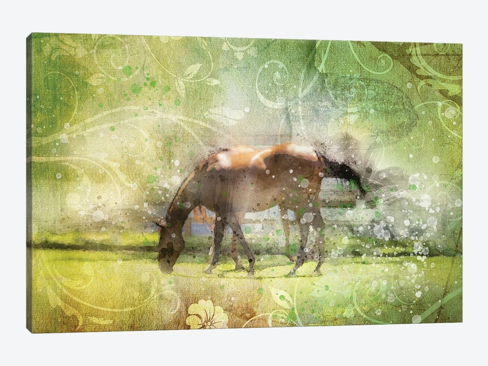 Horse by Kevin Clifford 1-piece Canvas Wall Art