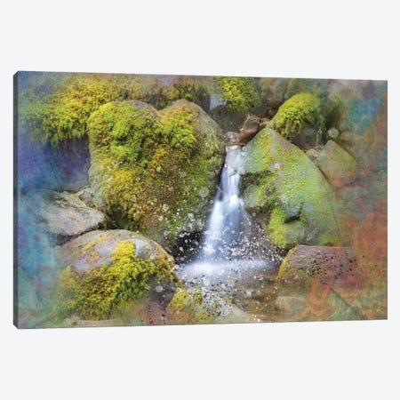 Zen Waterfall II Canvas Print #KCF64} by Kevin Clifford Art Print