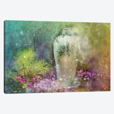 Floral Design Canvas Print #KCF68} by Kevin Clifford Canvas Art