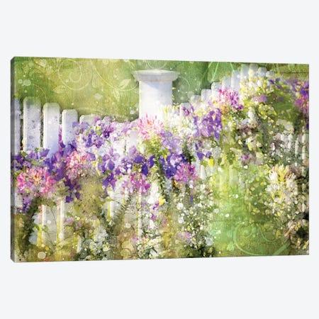 Floral IV Canvas Print #KCF72} by Kevin Clifford Art Print