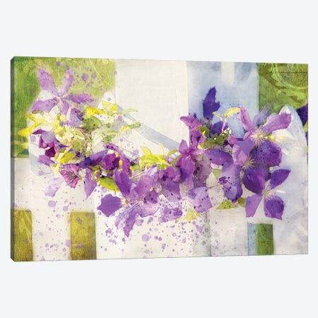 Floral V Canvas Print #KCF73} by Kevin Clifford Art Print