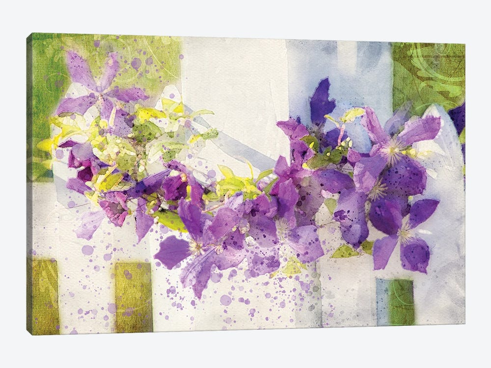 Floral V by Kevin Clifford 1-piece Canvas Wall Art