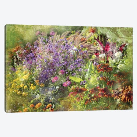 Floral VII Canvas Print #KCF75} by Kevin Clifford Canvas Wall Art