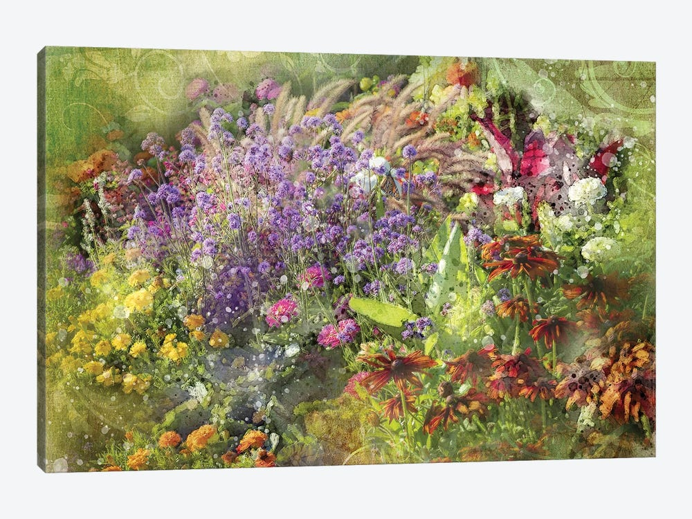 Floral VII by Kevin Clifford 1-piece Canvas Wall Art