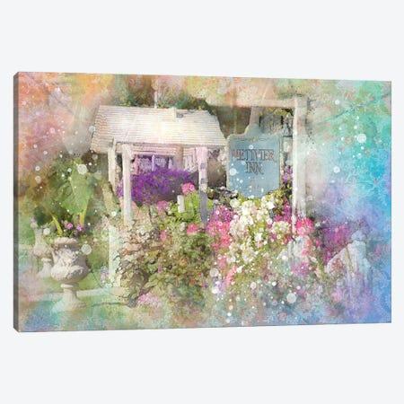 Floral Enterance Canvas Print #KCF77} by Kevin Clifford Canvas Wall Art
