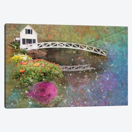 Bar Harbor Cottage Canvas Print #KCF7} by Kevin Clifford Canvas Artwork
