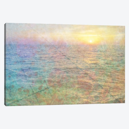 Mystic Sunset Canvas Print #KCF81} by Kevin Clifford Canvas Art