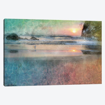 Canon Beach Beauty Canvas Print #KCF84} by Kevin Clifford Art Print