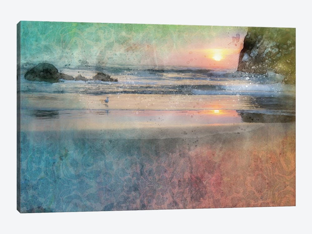 Canon Beach Beauty by Kevin Clifford 1-piece Canvas Wall Art