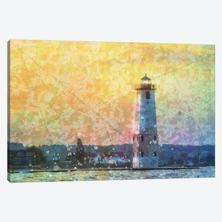 Frankfort Sunset Canvas Print #KCF85} by Kevin Clifford Canvas Art Print