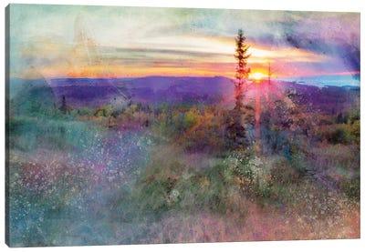 Brockway Mountain Sunset Canvas Art Print