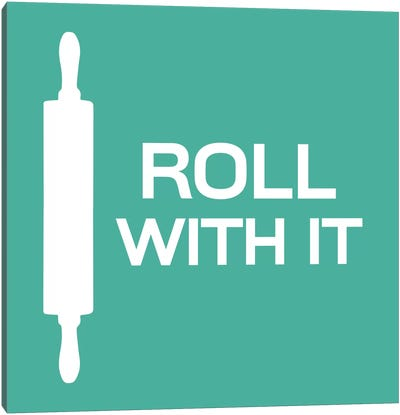 Roll With It Canvas Art Print