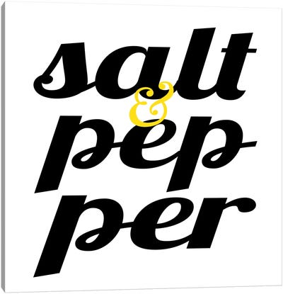 Salt & Pepper Canvas Art Print