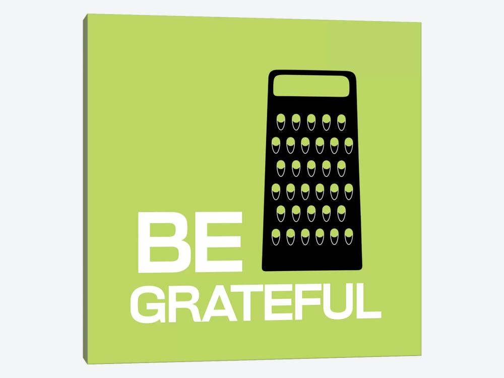 Be Greatful by iCanvas 1-piece Canvas Art Print
