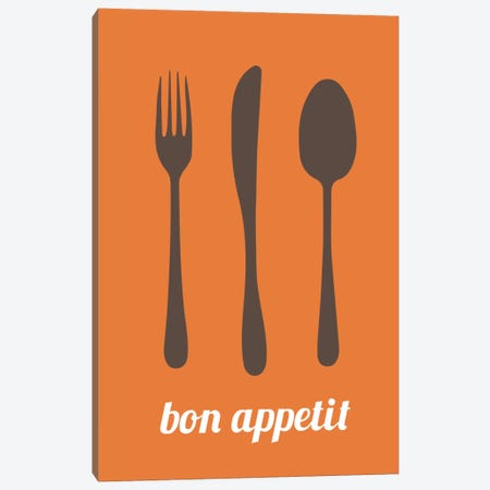 Bon Appetit Canvas Print #KCH2} by Unknown Artist Canvas Print