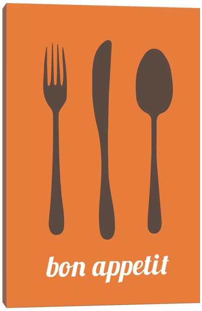 Bon Appetit Canvas Art Print